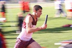 Relay runner by Latvian, Via Flickr cc license