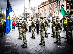 Easter Rising ceremony 2012