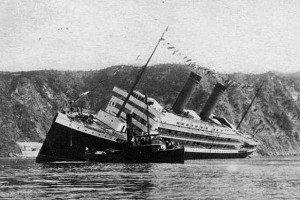 SS_Principessa_Jolanda_sinking