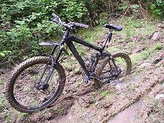 stuck bike